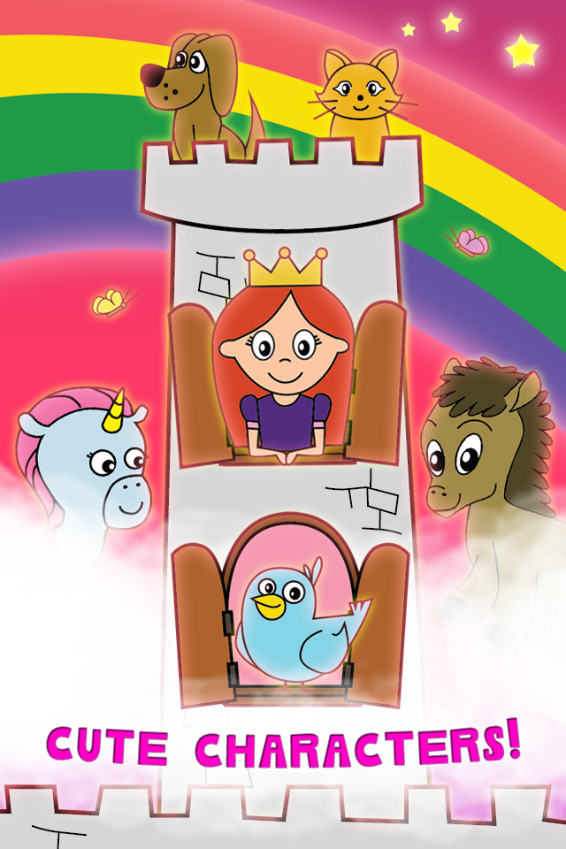 Screenshot Princess Fairy Tale Coloring Wonderland for Kids and Family Preschool Free Edition